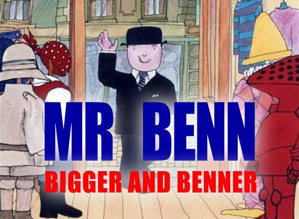 Mr Benn: Bigger and Benner