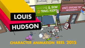 Louis Hudson Character Animation Reel 2015